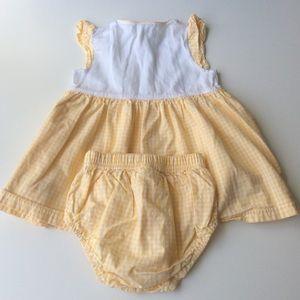 Little Me Dresses - Little Me Baby Girls Citrus Sundress Set | 12 mos.